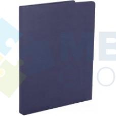 Папка на подпись Optima Nebraska, искусственная кожа, синяя