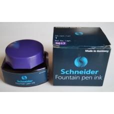 Чернила в стеклянной банке Schneider, 30 мл, фиолетовые