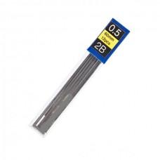 Стержни к механическому карандашу Economix 2B (12 шт. В тубусе)