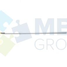Набор стержней шариковых Economix к автоматическим ручкам, 107 мм, 10 шт., синий