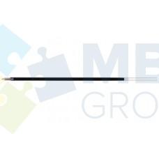 Стержень шариковый Economix к неавтоматическим ручкам, 140 мм, красный