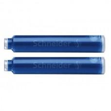Патрон чернильный к перьевой ручки Schneider, синий