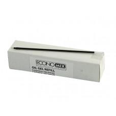 Стержень масляный Economix к неавтоматическим ручкам, 137 мм, черный