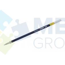 Стержень масляный Optima к неавтоматическим ручкам, 137 мм, синий