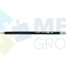 Карандаш чернографитный Economix HB, с резиной
