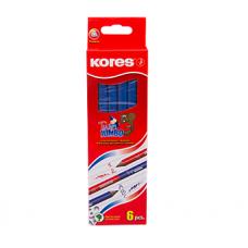 Карандаш графитный двусторонний Kores HB