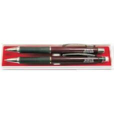 Набор механический карандаш Economix SIRIUS HB, 0,5 мм + авторучка в подарочной коробке, ассорти
