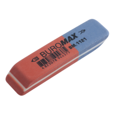 Ластик для карандаша и чернил Buromax