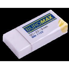 Ластик для карандаша Buromax, в индивидуальной упаковке