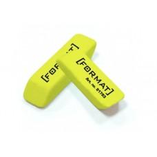 Ластик для карандаша Format, желтый
