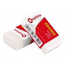 Ластик для карандаша Optima, в индивидуальной упаковке