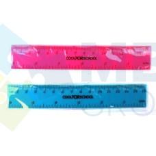 """Линейка пластиковая 15 см Cool for school """"Neon"""""""