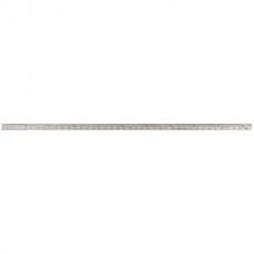 Линейка металлическая 1м Buromax, двухсторонняя