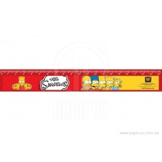 """Линейка пластиковая 20 см Cool for school """"The Simpsons"""""""