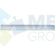 Линейка металлическая 30 см Economix