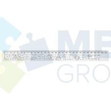 Линейка 30 см Economix, геометрические фигуры и формулы, печатная