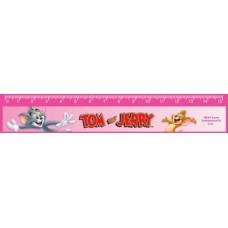 """Линейка пластиковая 15 см Cool for school """"Tom and Jerry"""""""