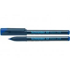 Маркер для CD и DVD Schneider MAXX 244, 0,7 мм, синий