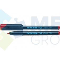 Маркер для CD и DVD Schneider MAXX 244, 0,7 мм, красный