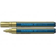 Маркер для декоративных и промышленных работ Schneider MAXX 270, 1-3 мм, золотой