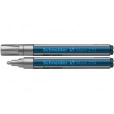 Маркер для декоративных и промышленных работ Schneider MAXX 270, 1-3 мм, серебристый