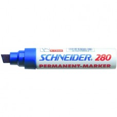 Маркер перманентный универсальный Schneider MAXX 280, 4-12 мм, черный