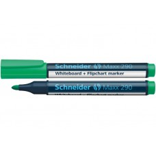 Маркер для досок и флипчартов Schneider MAXX 290, зеленый