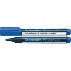 Маркер для досок и флипчартов Schneider MAXX 290, синий