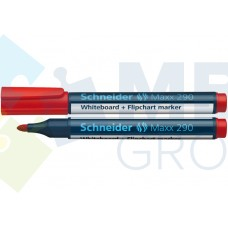 Маркер для досок и флипчартов Schneider MAXX 290, красный