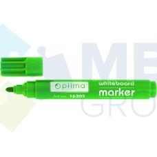 Маркер для белых досок Optima, зеленый