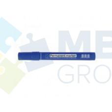 Маркер перманентный Format, 1-3 мм, синий