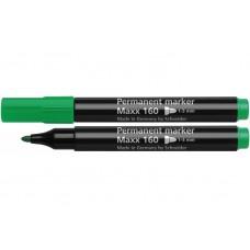 Маркер перманентный Schneider MAXX 160, 2-3 мм, зеленый