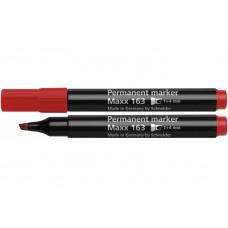 Маркер перманентный Schneider MAXX 163, 2-4 мм, красный