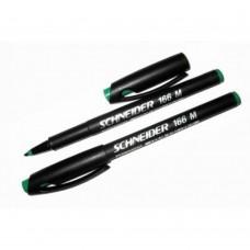 Маркер перманентный Schneider MAXX 166, 1 мм, зеленый