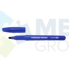 Маркер перманентный Economix, 1-2 мм, синий