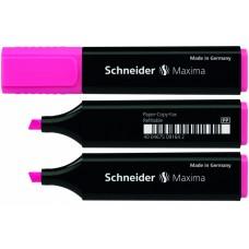 Маркер текстовый Schneider MAXIMA, розовый