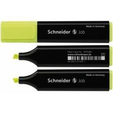 Маркер текстовый Schneider JOB 150, желтый