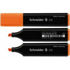 Маркер текстовый Schneider JOB 150, оранжевый