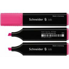 Маркер текстовый Schneider JOB 150, розовый