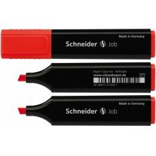 Маркер текстовый Schneider JOB 150, красный