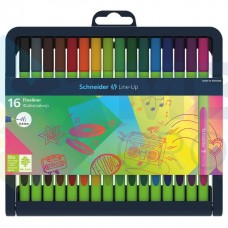 Набор разноцветных лайнеров Schneider LINE-UP, 0,4 мм, 16 цветов