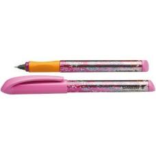 Ручка капиллярная-роллер чернильный Schneider Fiesta, 0,7 мм, корпус розовый, синяя