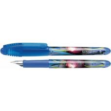 Ручка капиллярная-роллер чернильный Schneider Zippi, 0,7 мм, корпус розовый, синяя