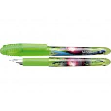 Ручка капиллярная-роллер чернильный Schneider Zippi, 0,7 мм, корпус зеленый, синяя
