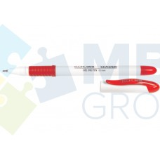 Ручка гелевая Economix LEADER, 0,5 мм, красная
