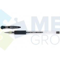 Ручка гелевая Economix GEL, 0,5 мм, черная