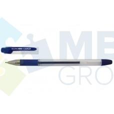 Ручка гелевая Economix CARAT, 0,5 мм, синяя