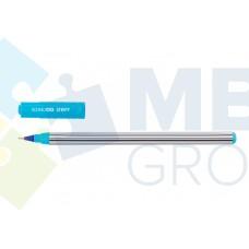 Ручка масляная Economix STRIPY, 0,7 мм, синяя