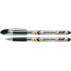 Ручка масляная Schneider SLIDER F, 0,5 мм, черная
