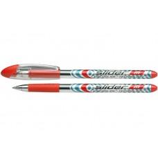 Ручка масляная Schneider SLIDER М, 0,7 мм, красная